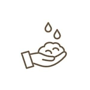Espuma manos
